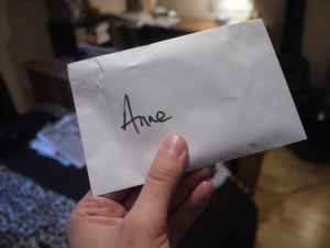 The all-important envelope