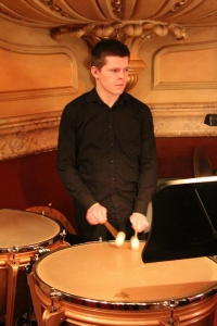 Will playing the timpani in the University orchestra
