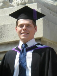 Will at his graduation