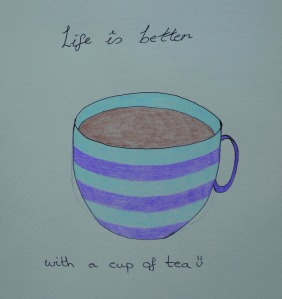 Cuppa illustration
