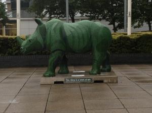 Green Go! Rhino