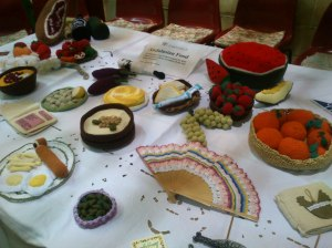 Knitted Andalusian feast