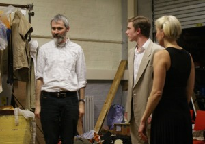 Vincent directing the cast in the recent SSA production of The Comedy of Errors