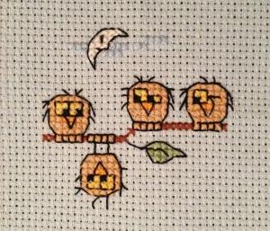 IndividuOwl cross stitch 2