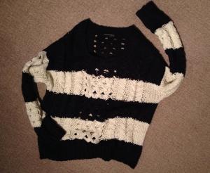 Here woolly jumper
