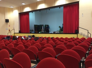 The school had its own theatre!