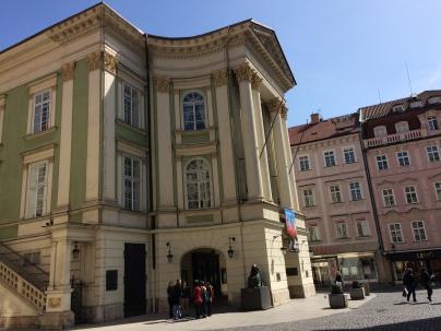 The Estates Theatre, where Mozart's Don Giovanni premiered in 1787